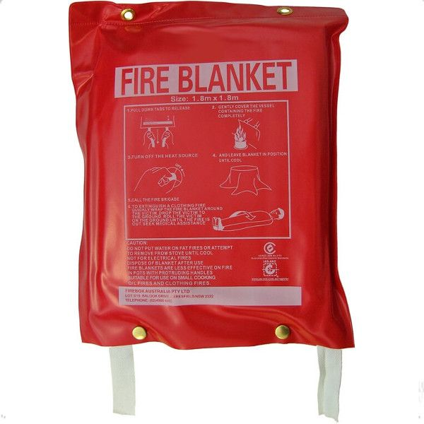 1.8 m x 1.8 m Fire Blanket