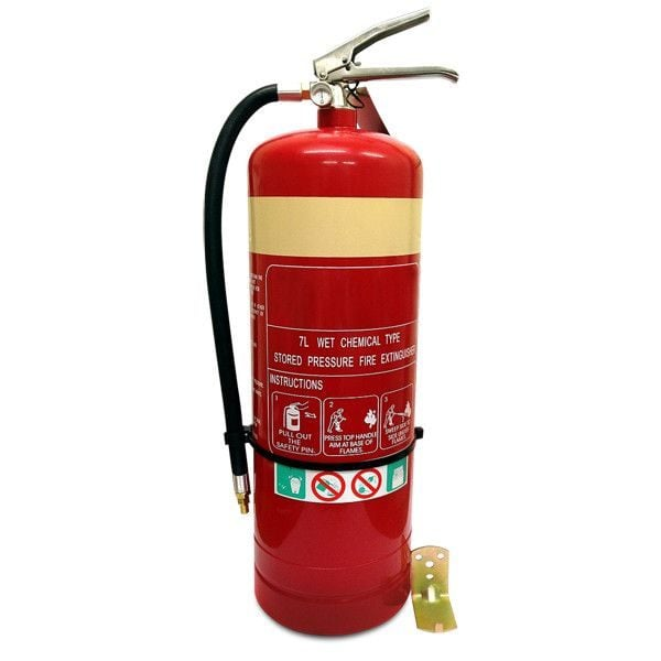7 L Wet Chemical Fire Extinguisher