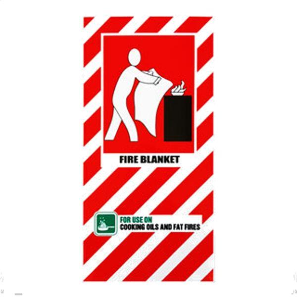 NZ Fire Blanket Sign