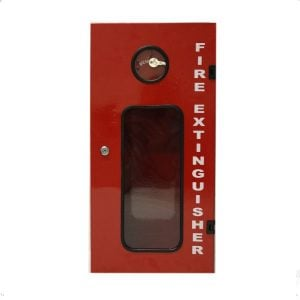 Large Steel Fire Extinguisher Cabinet